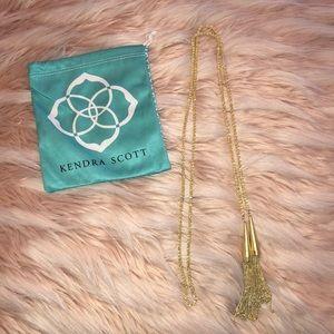 """Phara"" tassel lariat Necklace! Kendra Scott"